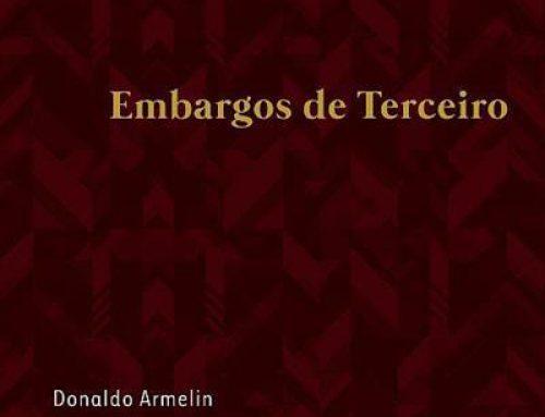 """Lançamento do livro: """"Embargos de Terceiro"""" de Donaldo Armelin"""