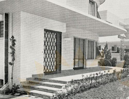 A casa do arquiteto Jayme C Fonseca Rodrigues